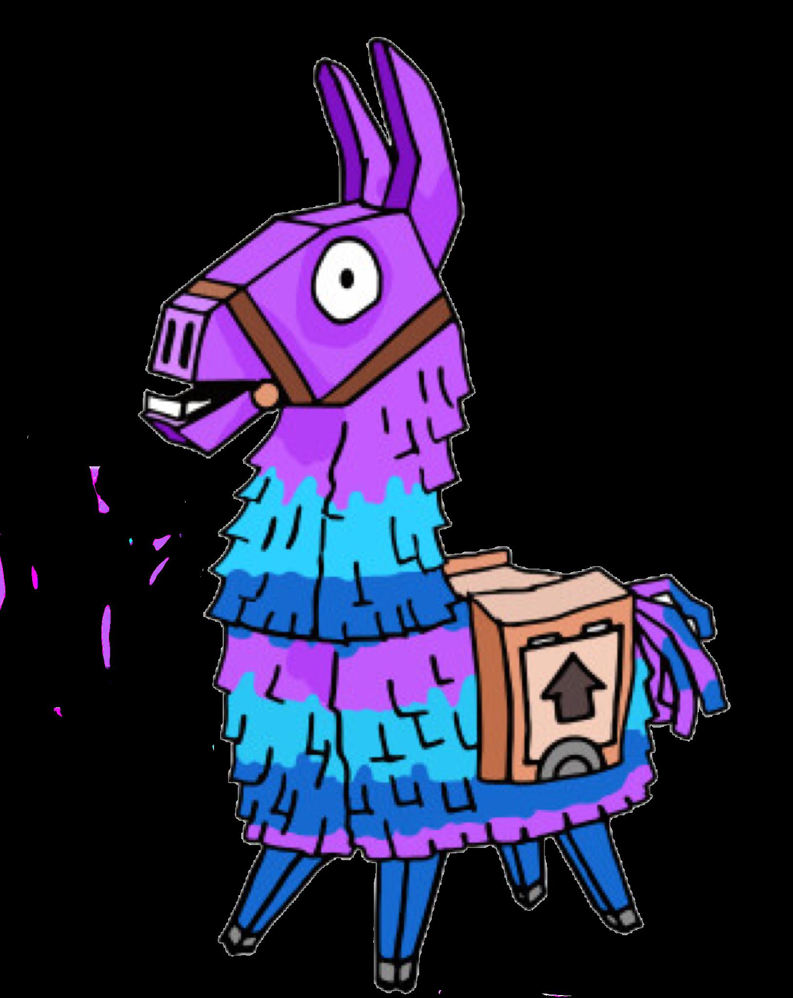 Loot Llama From Fortnite Llama Loot Lootllama Fornit