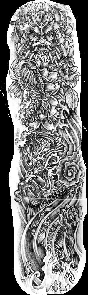 Arm Tattoo Png Maori: Tattoo Tattoosleeve Tattoodesign Freetoedit