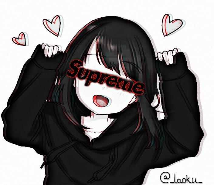 Kayako Kayako-Chan Menhera Stickers Anime Animegirl Gir