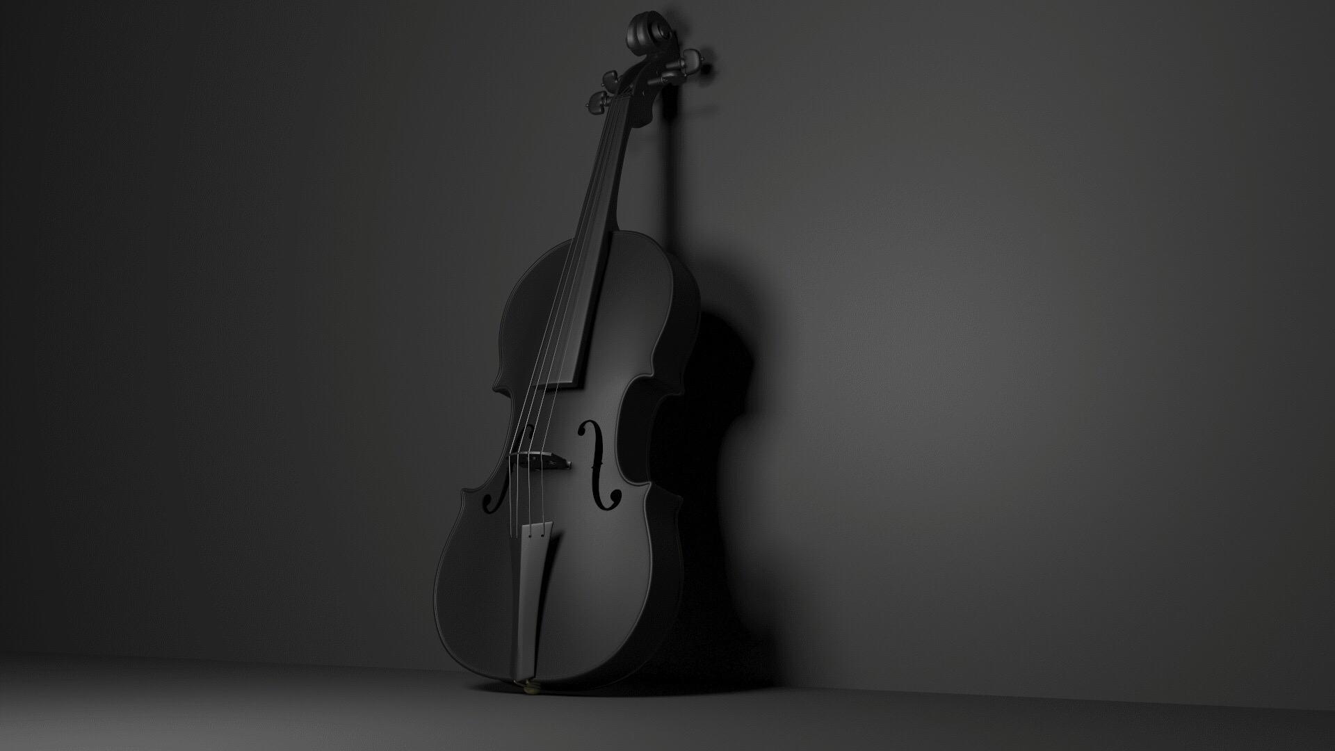 Black Violin Hd Wallpaper