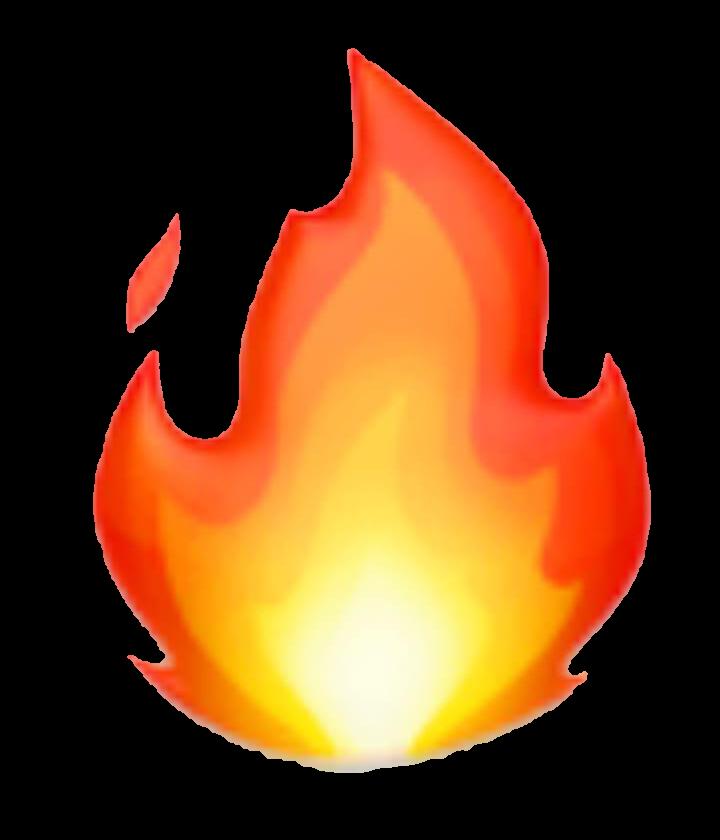 emoji fire hot flame fireflame snapstreak...