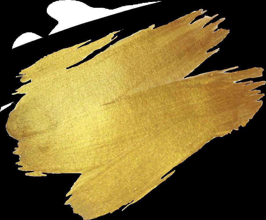 Gold Paint Smudge Goldsmudge Goldpaint Nice
