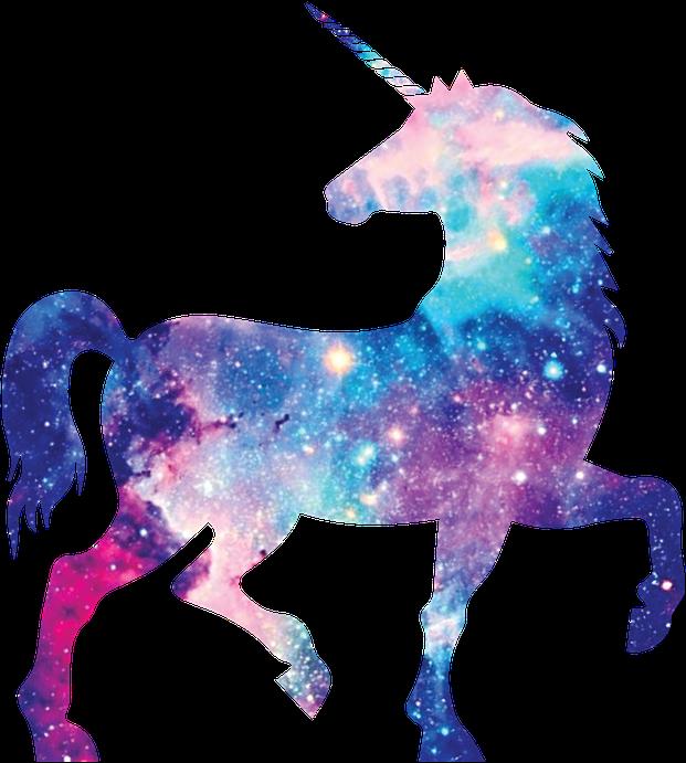 Unicorn Galaxy Tumblr Aesthetic Scspacestickers
