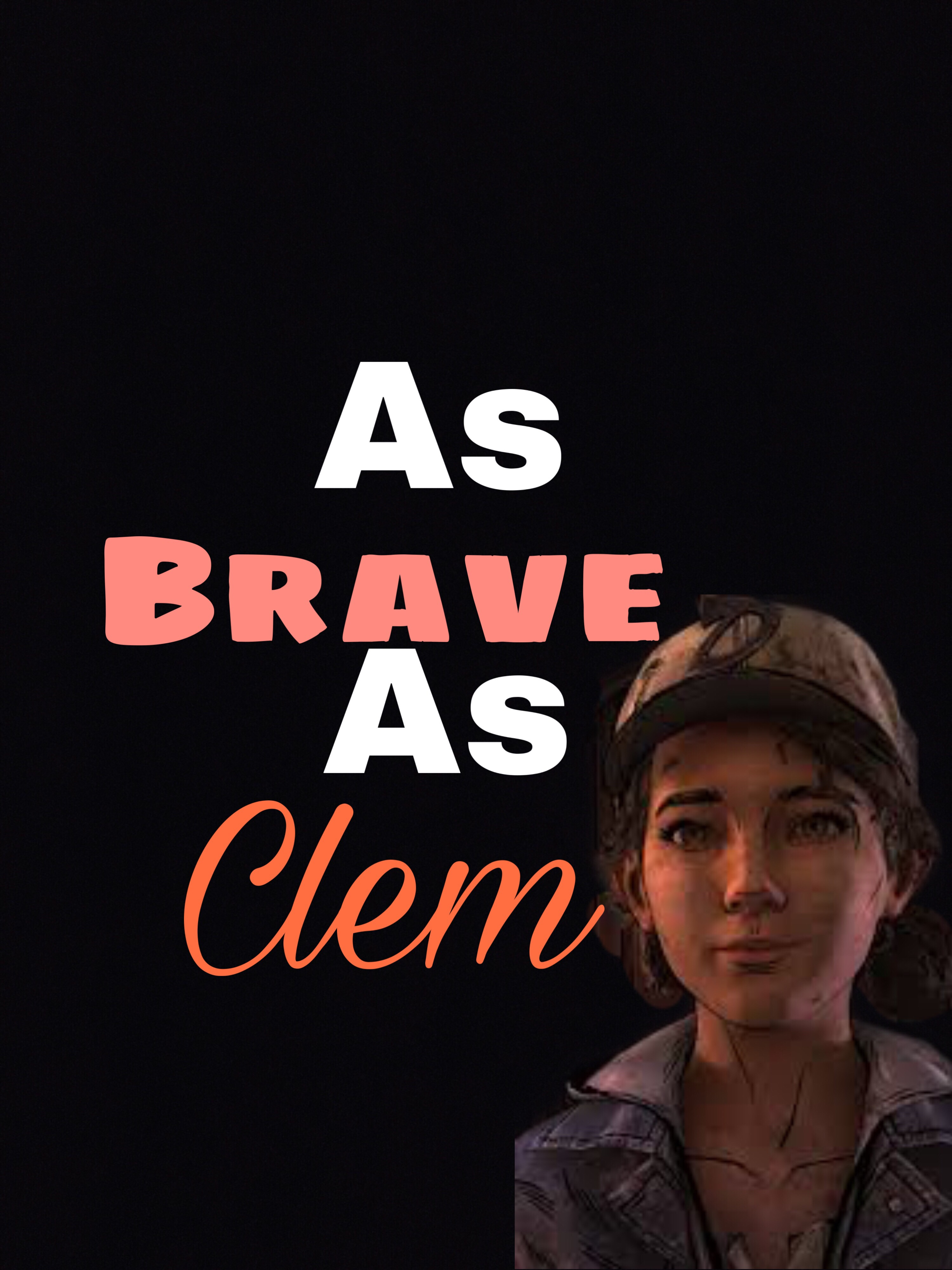 Twdg Clementine Clem I Made Another Wallpaper And There