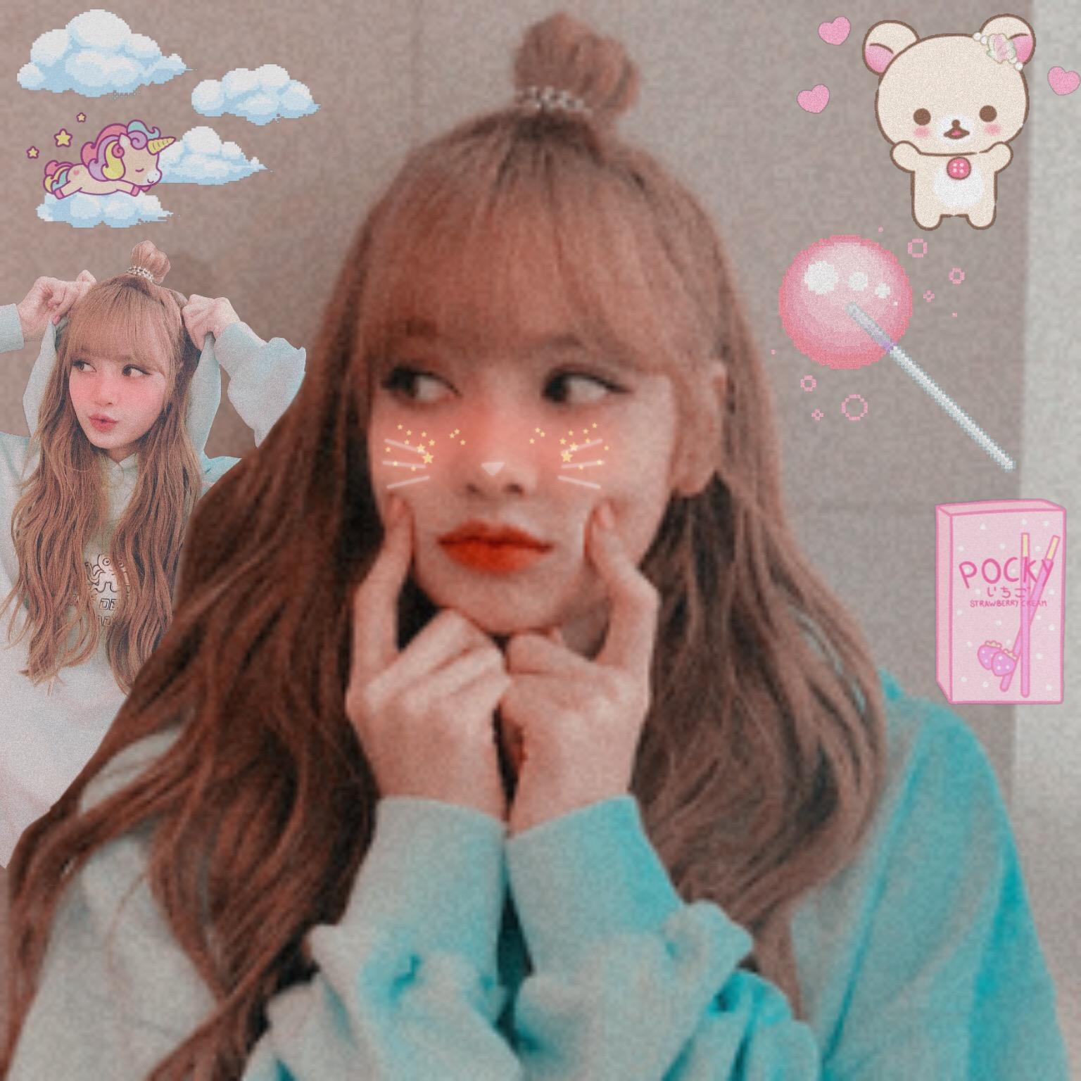 Lisa~ cute edit 💕 lalisa lalisamanoban lisamanoban lis...