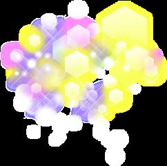 hexagons freetoedit