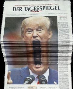 ftestickers trump meme newspaper freetoedit