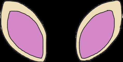 ftestickers ears bunnyears
