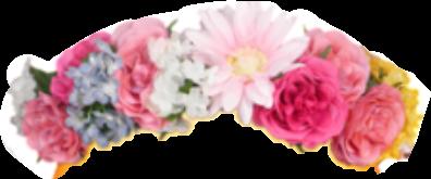 crown flower freetoedit