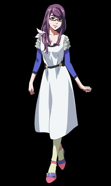 #ftestickers #rizekamishiro #tokyoghoul #anime #ghoul #dress #girl #purple #FreeToEdit