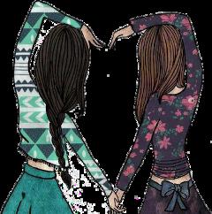 bff bessfrenn love sisters amigas