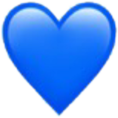 iphone heart love blue freetoedit