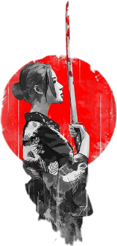 samurai girl freetoedit