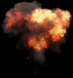 explosion fire smoke hot freetoedit