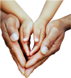 hands smallhands bighands love protection