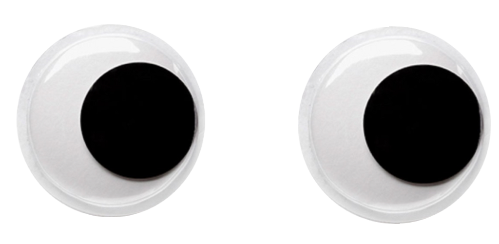 google eyes blackandwhite - Sticker by R. Nash