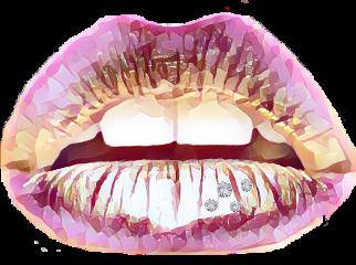 ftelips pinklips prettylips diamonds luxury