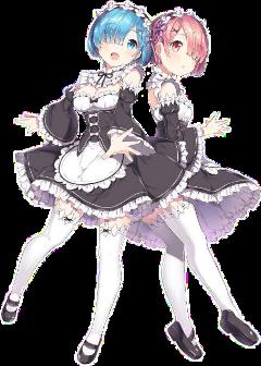 rem ram rezero cute freetoedit