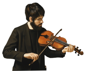 man violin freetoedit