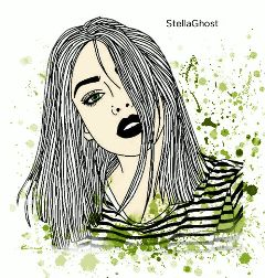 girl drawing sticker stickeredit edit freetoedit