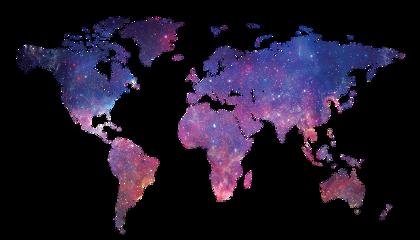 Popular and trending worldmap stickers on picsart world map worldmap galaxy gumiabroncs Gallery