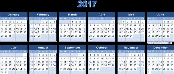 ftestickers fte sticker calendar 2017