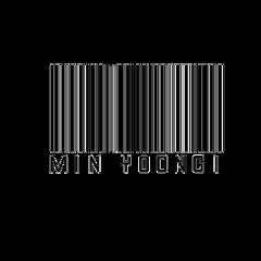 minyoongi barcode kpop bts suga