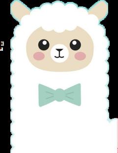 cute cuteandkawaii kawaii kawaiicute alpaca freetoedit