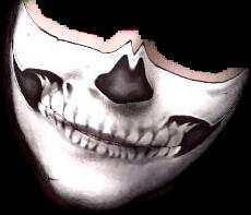 mask halloween skeleton freetoedit