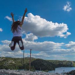 jumpshot jump sky clouds