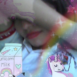 unicornmakeup unicorn unicornio unicornremix unicorns freetoedit