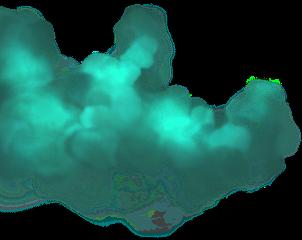 smoke dust cloud effects blue