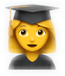 graduation grad emoji school college