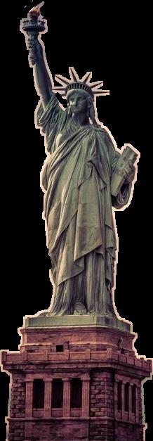 ftestickers freestickers libertystatue newyork newyorkcity