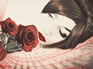 edited artisticportrait rose sleep sleepingbeauty