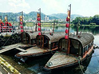 boats china travel jiande