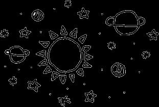 sun planets galaxy freetoedit