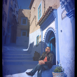 chefchaouen ciudad blue morocco freetoedit