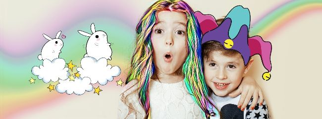 childrensday happy siblings colorful june1 freetoedit