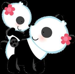 mom baby family panda momlove