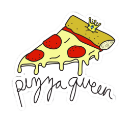 sticker pizza freetoedit