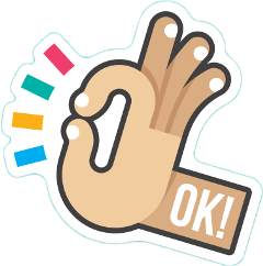 sticker ok freetoedit
