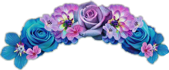 flowercrown flower sticker flowercrownsticker flowersticker