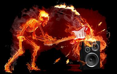 rock fire fuego esqueleto freetoedit