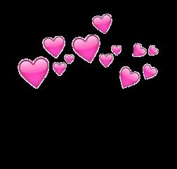 сердечки надголовой стикерыввк стикер вк