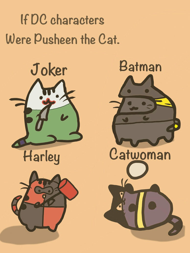Pusheen Cat Food