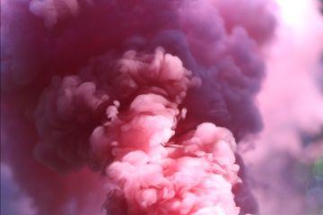 freetoedit pink cloud smoke sky