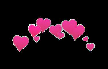 corazones rosa freetoedit