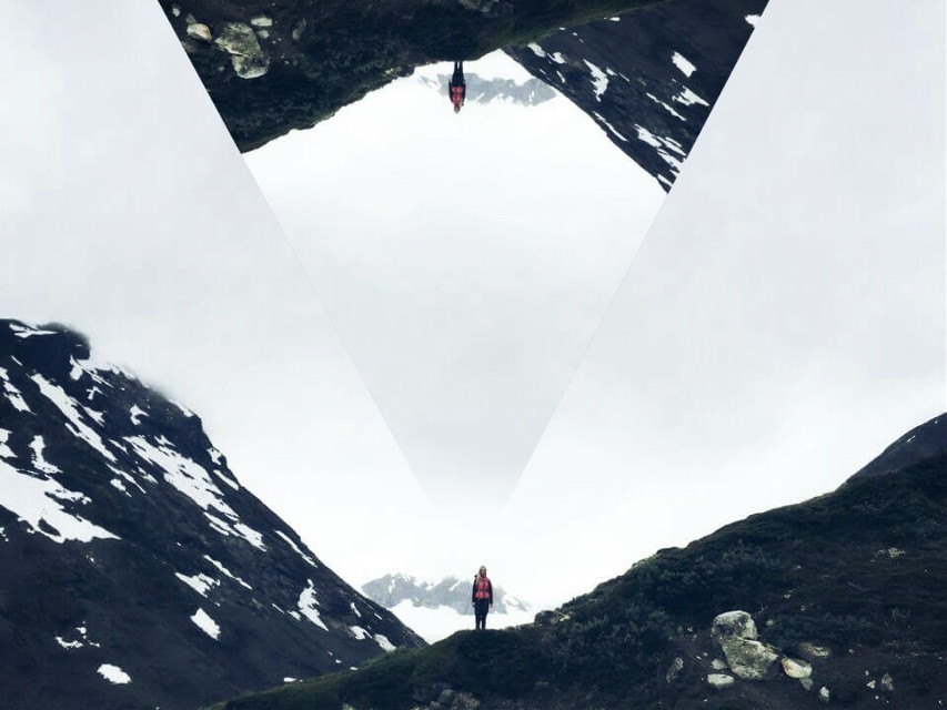 #hikingremix #girl #sky #mountain  #wapportal