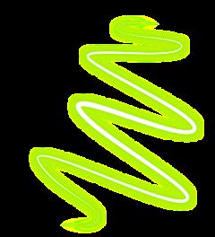 خط سبز نورانی freetoedit
